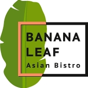 This is the restaurant logo for Banana Leaf
