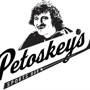 This is the restaurant logo for PETOSKEY'S