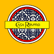 This is the restaurant logo for Casa Romero