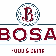 This is the restaurant logo for BOSA Food & Drink