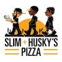 Restaurant logo for Slim & Husky's