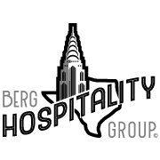 This is the restaurant logo for Berg Hospitality Group Gift Cards
