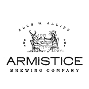 This is the restaurant logo for Armistice Brewing Company