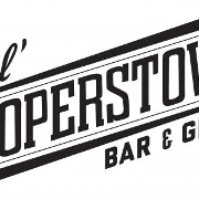 This is the restaurant logo for Lil' Cooperstown