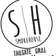 This is the restaurant logo for SmokeHouse Tailgate Grill