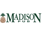 This is the restaurant logo for The Madison & Madison Pub