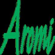 This is the restaurant logo for Aromi Italian Restaurant