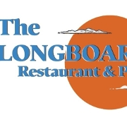 This is the restaurant logo for The Longboard Restaurant- Main St
