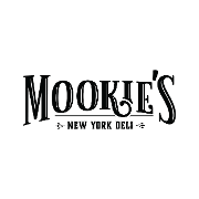 This is the restaurant logo for Mookies New York Deli
