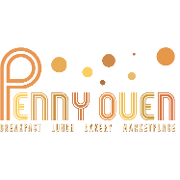This is the restaurant logo for Penny Oven • Holi - Organic Takeout Indian Cusine • Good Fire Pizza