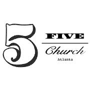 This is the restaurant logo for 5Church Atlanta