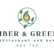 This is the restaurant logo for Ember & Greens