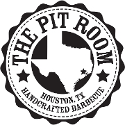 This is the restaurant logo for The Pit Room