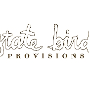 This is the restaurant logo for State Bird Provisions