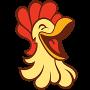 Restaurant logo for Kickin' Chicken