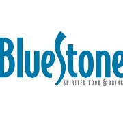 This is the restaurant logo for Bluestone