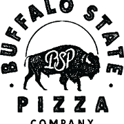 This is the restaurant logo for Buffalo State Pizza Co XR