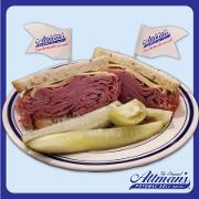 This is the restaurant logo for Attman's Potomac Deli
