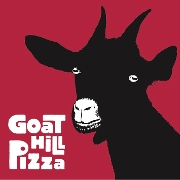This is the restaurant logo for Goat Hill Pizza