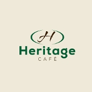 This is the restaurant logo for Heritage Cafe