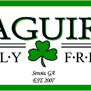 This is the restaurant logo for Maguires Family & Friends