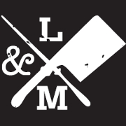 This is the restaurant logo for Lincoln & Main Gastropub
