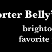 This is the restaurant logo for Porter Belly's