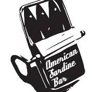 This is the restaurant logo for American Sardine Bar