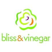 This is the restaurant logo for Bliss & Vinegar