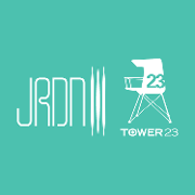 This is the restaurant logo for JRDN Restaurant | Tower23 Hotel