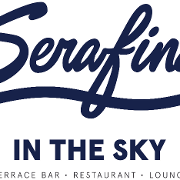 This is the restaurant logo for Serafina in the Sky