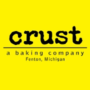 This is the restaurant logo for CRUST