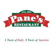 This is the restaurant logo for Pane's Restaurant