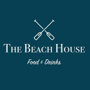 This is the restaurant logo for The Beach House Food & Drinks