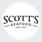 This is the restaurant logo for Scott's Seafood San Jose