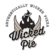 This is the restaurant logo for Wicked Pie Pizza