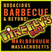 This is the restaurant logo for Firefly's BBQ
