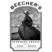 This is the restaurant logo for Beecher's Handmade Cheese