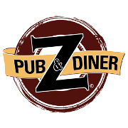 This is the restaurant logo for Z Pub & Diner