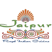 This is the restaurant logo for Jaipur Royal Indian Cuisine