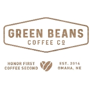 This is the restaurant logo for Green Beans Coffee