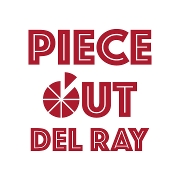 This is the restaurant logo for Piece Out