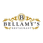 This is the restaurant logo for Bellamy's Restaurant