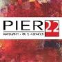 Restaurant logo for PIER 22