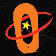 This is the restaurant logo for Galaxy Cantina & Grill
