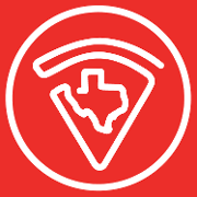 This is the restaurant logo for Howdy's Texas Grill'd Pizza