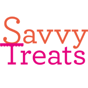 This is the restaurant logo for Savvy Treats