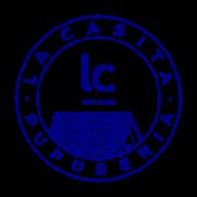 This is the restaurant logo for La Casita Pupuseria