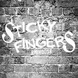 This is the restaurant logo for Sticky Fingers