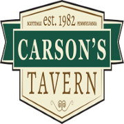 This is the restaurant logo for Carson's Tavern